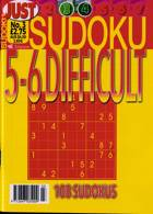 Just Sudoku Difficult 5-6 Magazine Issue NO 3