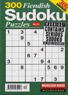 300 Fiendish Sudoku Puzzle Magazine Issue NO 74