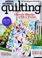 American Patchwork Quilting Magazine Issue JUN 21