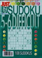 Just Sudoku Difficult 5-6 Magazine Issue NO 2