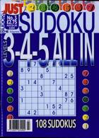 Just Sudoku All In 3 4 5 Magazine Issue NO 3