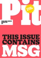 Pit 9 Pink Cover Magazine Issue PIT 9 Pink