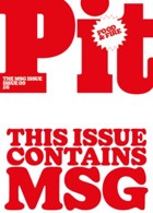 Pit 9 Red Cover Magazine Issue Pit 9 Red