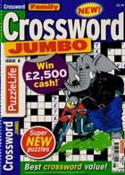 Family Crossword Jumbo Magazine Issue NO 8