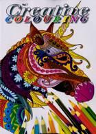 Creative Colouring Magazine Issue NO 7