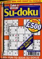 Take A Break Sudoku Magazine Issue NO 7