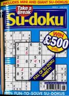 Take A Break Sudoku Magazine Issue NO 6