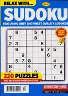 Relax With Sudoku Magazine Issue NO 17