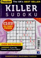 Puzzler Killer Sudoku Magazine Issue NO 184