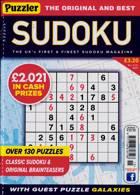 Puzzler Sudoku Magazine Issue NO 215