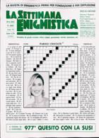 La Settimana Enigmistica Magazine Issue NO 4655