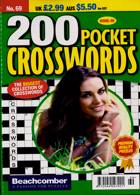 200 Pocket Crosswords Magazine Issue NO 69