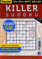 Puzzler Killer Sudoku Magazine Issue NO 185
