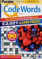 Puzzler Q Code Words Magazine Issue NO 474
