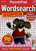 Puzzlelife Wordsearch Super Magazine Issue NO 40