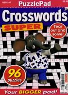 Puzzlelife Crossword Super Magazine Issue NO 40