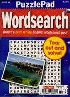 Puzzlelife Ppad Wordsearch Magazine Issue NO 64