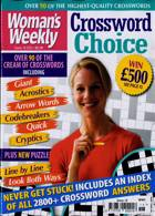 Womans Weekly Crosswo Choice Magazine Issue NO 18