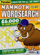 Puzz Mammoth Fam Wordsearch Magazine Issue NO 77