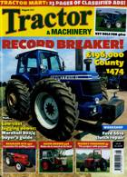 Tractor And Machinery Magazine Issue AUG 21