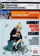 Courrier International Magazine Issue NO 1594
