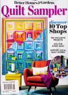 Bhg Quilt Sampler Magazine Issue SUM/AUT