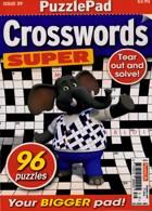 Puzzlelife Crossword Super Magazine Issue NO 39