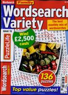 Family Wordsearch Variety Magazine Issue NO 72