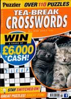Puzzler Tea Break Crosswords Magazine Issue NO 308
