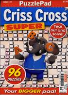 Puzzlelife Criss Cross Super Magazine Issue NO 39