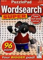Puzzlelife Wordsearch Super Magazine Issue NO 39