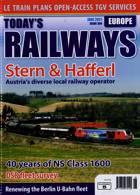 Todays Railways Europe Magazine Issue JUN 21