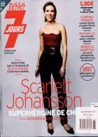 Tele 7 Jours Magazine Issue NO 3188