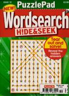 Puzzlelife Ppad Wordsearch H&S Magazine Issue NO 10
