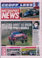 Motorsport News Magazine Issue 12/08/2021