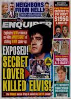 National Enquirer Magazine Issue 16/08/2021