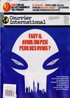 Courrier International Magazine Issue NO 1600