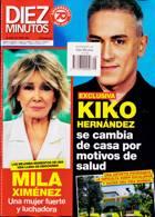Diez Minutos Magazine Issue NO 3645