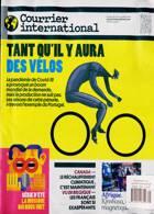 Courrier International Magazine Issue NO 1601