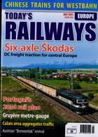 Todays Railways Europe Magazine Issue JUL 21