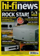 Hi-Fi News Magazine Issue SEP 21