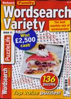 Family Wordsearch Variety Magazine Issue NO 71
