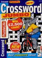 Family Crossword Jumbo Magazine Issue NO 10
