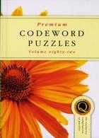 Premium Codeword Puzzles Magazine Issue NO 82