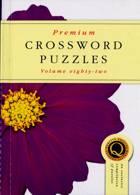 Premium Crossword Puzzles Magazine Issue NO 82