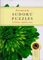 Premium Sudoku Puzzles Magazine Issue NO 82