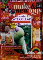 Make And Sew Toys Magazine Issue NO 6