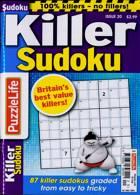 Puzzlelife Killer Sudoku Magazine Issue NO 20