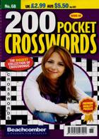200 Pocket Crosswords Magazine Issue NO 68