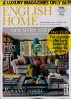 English Home Garden Pack Magazine Issue AUG 21